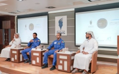 Photo: UAE Astronauts Share Their Experiences at Press Conference Organised by DPC
