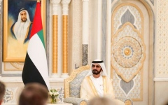 Photo: Mohammed bin Rashid receives credentials of new ambassadors to UAE