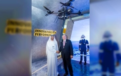 Photo: ADNOC to use drones in search for new oil and gas resources in partnership with Total