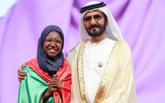 Photo: Hadeel Anwar from Sudan declared Arab Reading Champion 2019