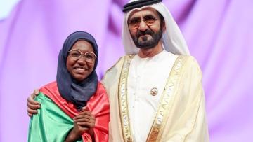 Photo: Hadeel Anwar from Sudan declared Arab Reading Champion 2019