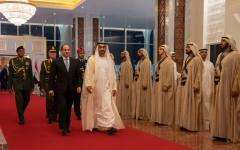 Photo: Egyptian President starts two-day state visit to UAE