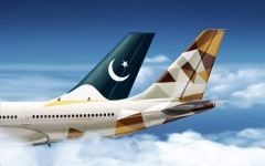 Photo: Etihad Airways, Pakistan's PIA relaunch codeshare partnership