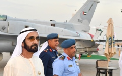 Photo: Mohammed bin Rashid inspects preparations for Dubai Airshow 2019