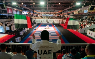 Photo: Khalid bin Mohamed bin Zayed opens Jiu-Jitsu World Championship