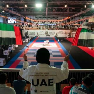 Photo: Khalid bin Mohamed bin Zayed opens Jiu-Jitsu World Championship