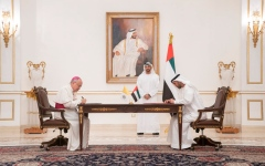 Photo: Mohamed bin Zayed, Pope Francis sign collaborative declaration on global health