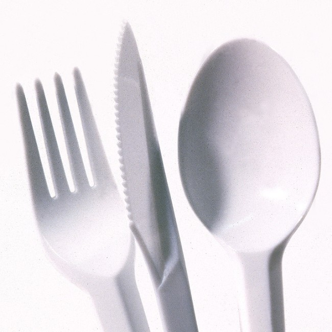 Plastic utensils could be poisonous