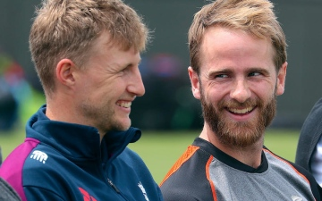 Photo: New Zealand and England put cricket rivalry to the Test