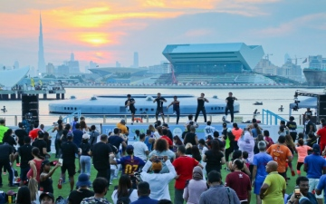 Photo: Crossing record of 1.1 mn participants, Dubai Fitness Challenge ends on high note