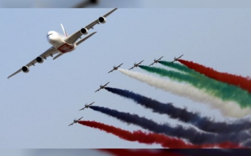 Photo: Dubai Air Show 2021 already receiving bookings from potential participants