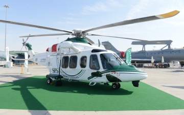 Photo: AW139 helicopter joins Dubai Police fleet of Aircraft