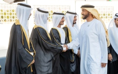Photo: Nahyan bin Zayed attend 4th Al Wathba group wedding