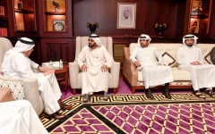 Photo: Mohammed bin Rashid receives GCC Secretary-General