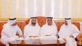 Photo: Hamad Al Sharqi receives condolences of RAK Ruler on death of Sheikha Sheikha Al Salami