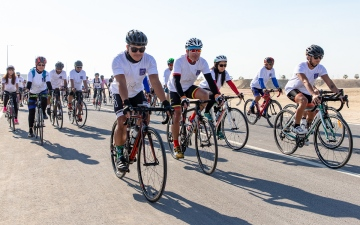 Photo: Cyclists invited to join second annual Ride for Zayed