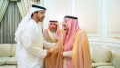 Photo: Abdullah bin Zayed conveys condolences of UAE Rulers to sons of Prince Miteb bin Abdelaziz