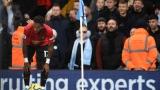 Photo: Solskjaer demands life ban for 'monkey chant' spectator at Manchester derby