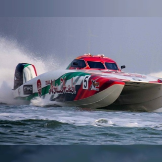 Photo: Team Abu Dhabi looks to retain UIM XCAT World Championship in Dubai Grand finale