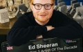 Photo: Ed Sheeran crowned UK's Official Number 1 Artist of the Decade