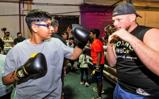 Photo: Children of determination to receive boxing training in first-of-its-kind initiative