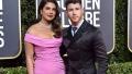 Photo: Priyanka Chopra and Nick Jonas joke new puppy was snubbed from Golden Globes