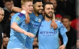 Photo: Man City outclass Man Utd to close in on League Cup final