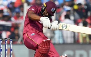 Photo: Lewis hits undefeated 99 as Windies ease to victory