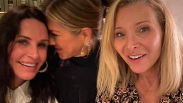 Photo: Jennifer Aniston has Friends reunion as she skips Critics' Choice Awards