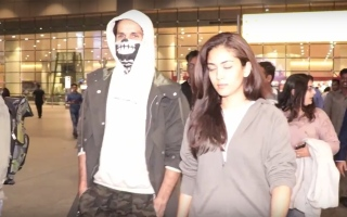Photo: Injured Shahid returns with a skeleton mask