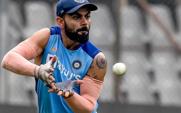 Photo: Kohli open to day-night Test at Gabba or Perth