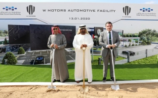 Photo: Foundation stone laid for MENA's first automotive facility