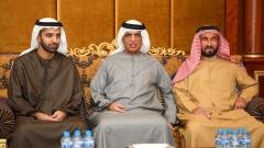 Photo: Ras Al Khaimah Ruler offers condolences to Al Zaabi family