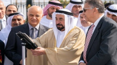 Photo: Sharjah Ruler inaugurates Sharjah Radio Telescope Station