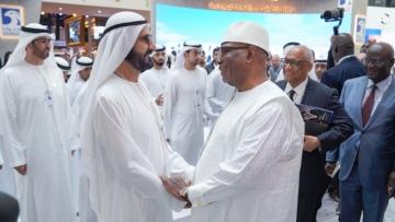 Photo: UAE VP meets Mali President