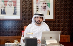 Photo: Hamdan bin Mohammed: 50% of government employees to work from the office starting Sunday