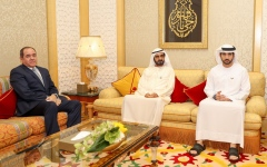 Photo: Mohammed bin Rashid receives Algerian Minister of Foreign Affairs