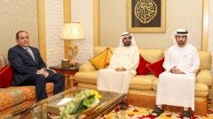 Photo: Mohammed bin Rashid receives Algerian Minister of Foreign Affairs