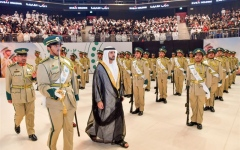 Photo: Hamdan bin Mohammed attends Dubai Police graduation ceremony