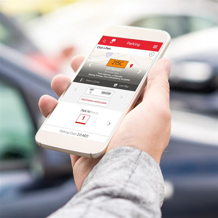 Photo: Parking fees payable through RTA app can earn users loyalty points on nol Plus