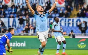Photo: Immobile hits hat-trick as Lazio crush Sampdoria, Napoli woes deepen