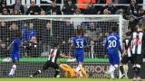 Photo: Chelsea rocked as Hayden's late strike lifts Newcastle
