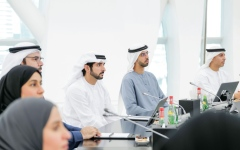 Photo: Hamdan bin Mohammed approves DFF's three-year strategic plan