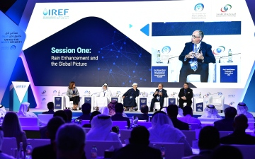 Photo: 4th International Rain Enhancement Forum kicks off in Abu Dhabi
