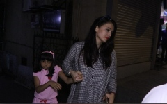Photo: Aishwarya and Aaradhya's ice cream jaunt!