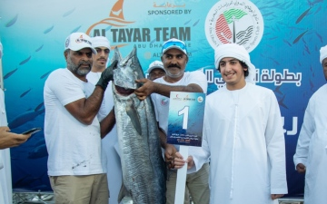 Photo: Most expensive kingfish sells for US$54,000 in Abu Dhabi
