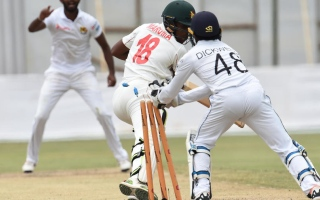 Photo: Second 50 for Taylor as Zimbabwe strengthen position