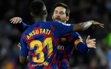 Photo: Fati and Messi connection sees Barca hold on against Levante
