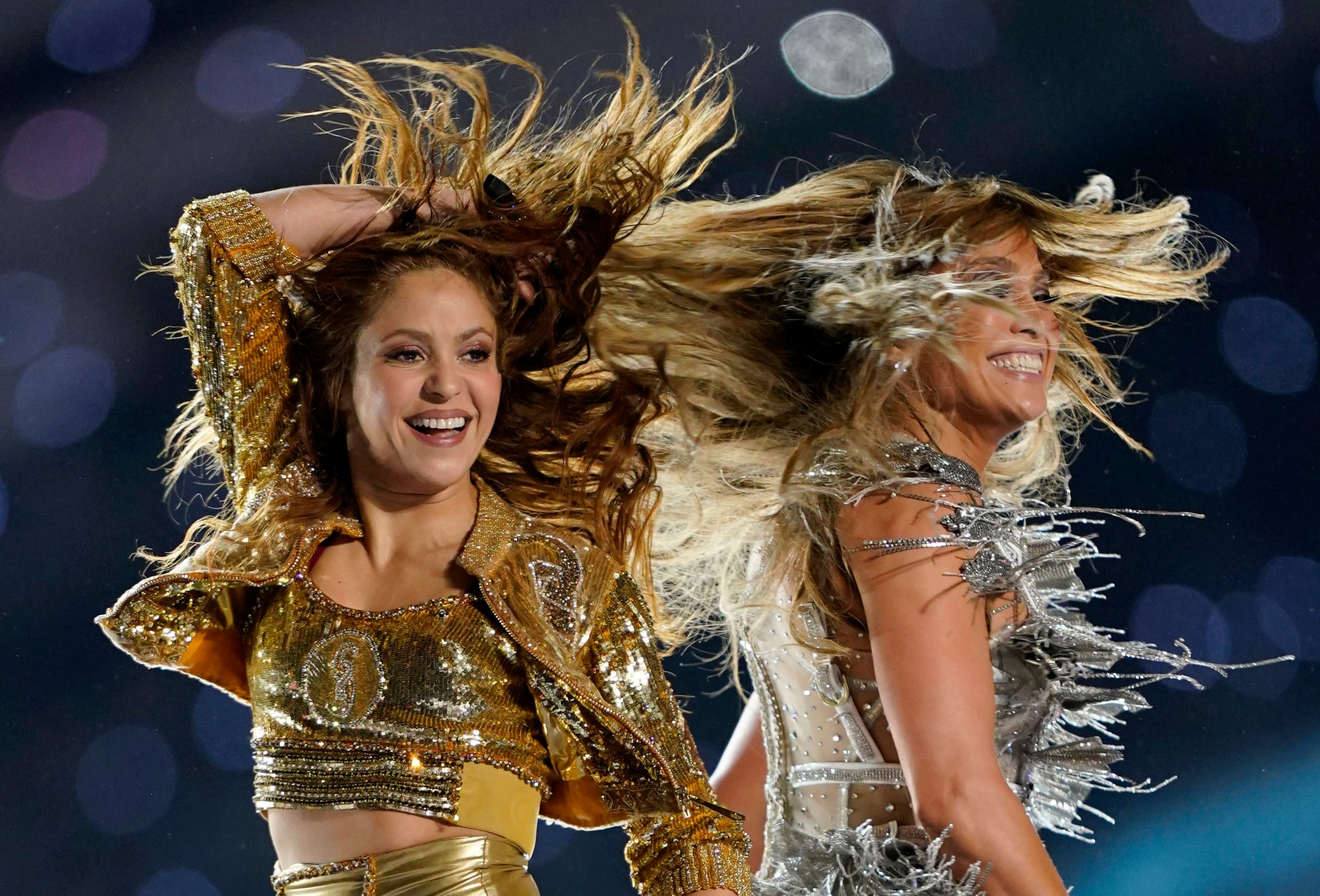 Cuenco: The look for less: J. Lo and Shakira's Superbowl makeup