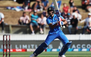 Photo: India's 'next-gen' shine in first New Zealand ODI
